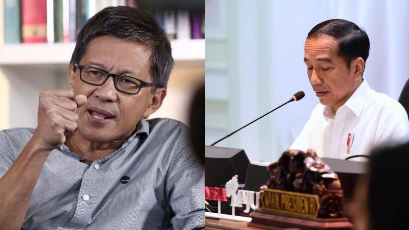 Heran Eks Timses Jokowi Diangkat Jadi Ketua Pansel KPU 2024, Rocky Gerung: Presiden Gak Paham Etika!