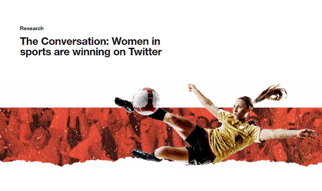 Twitter's insights on women in sports being discussed on the platform