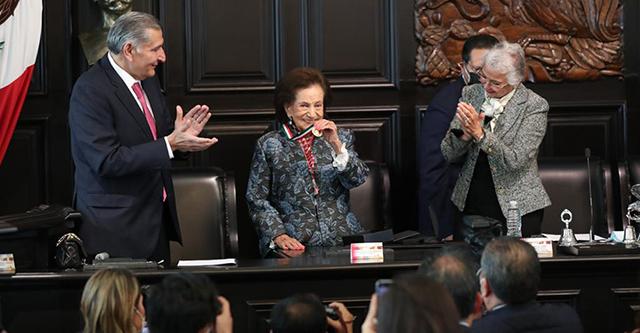 Propone Ifigenia Martínez un nuevo pacto nacional político, económico y social sobre los pilares de la 4T