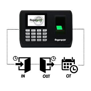Fingerprint Revo 180B Murah dan Ada Baterai