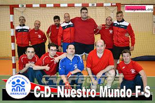 Fútbol-sala discapacitados Aranjuez Integrandes