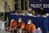 Polres Rohil Ungkap 3 Pelaku Pembunuhan Mayat Terikat Di Bagan Sungai Nenas Tanjung Medan,Otak Pelaku Masih Buron