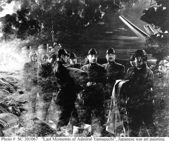 Admiral Yamaguchi's last moments 5 June 1942 worldwartwo.filminspector.com
