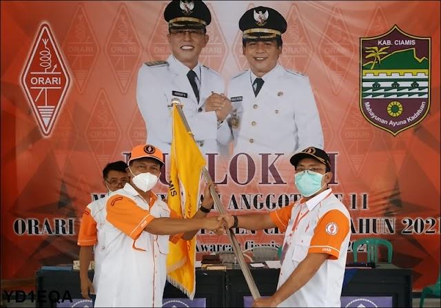 Budi Lukmansyah Nakhodai Orlok Kabupaten Ciamis