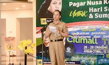 Bertempat di Atrium Citimall, Bupati Ketapang Resmi Membuka Open Turnamen dan Seni Aliran Pagar Nusa  2021