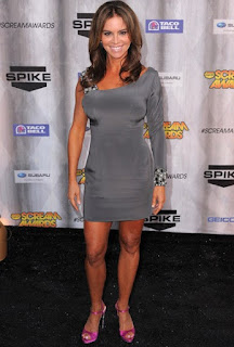 Betsy Russell posing for a picture