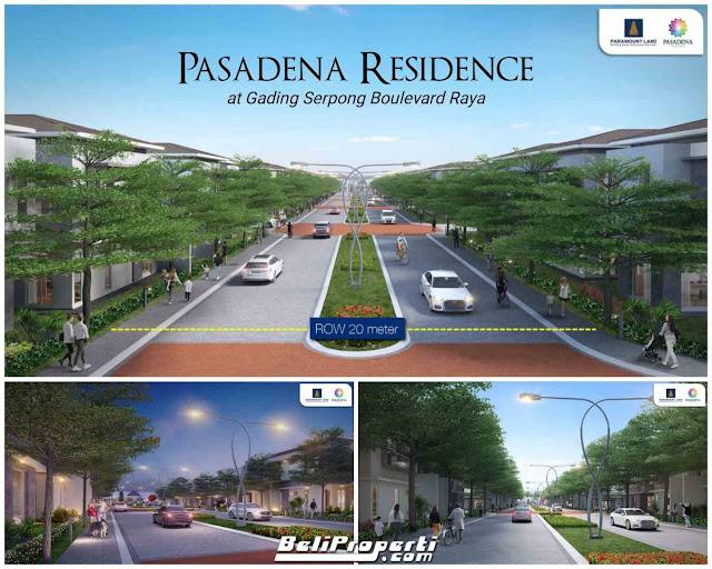 paramount land pasadena residence