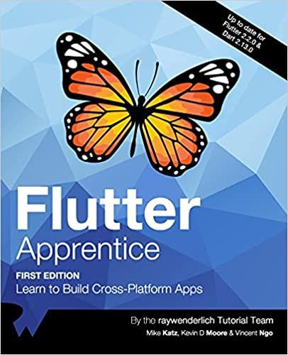 Flutter Apprentice in pdf