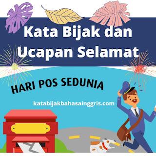Ucapan Bahasa Inggris Selamat Hari Pos Sedunia 9 Oktober