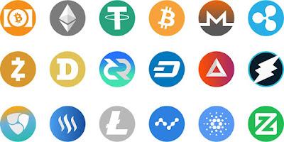 mata uang crypto meningkat drastis