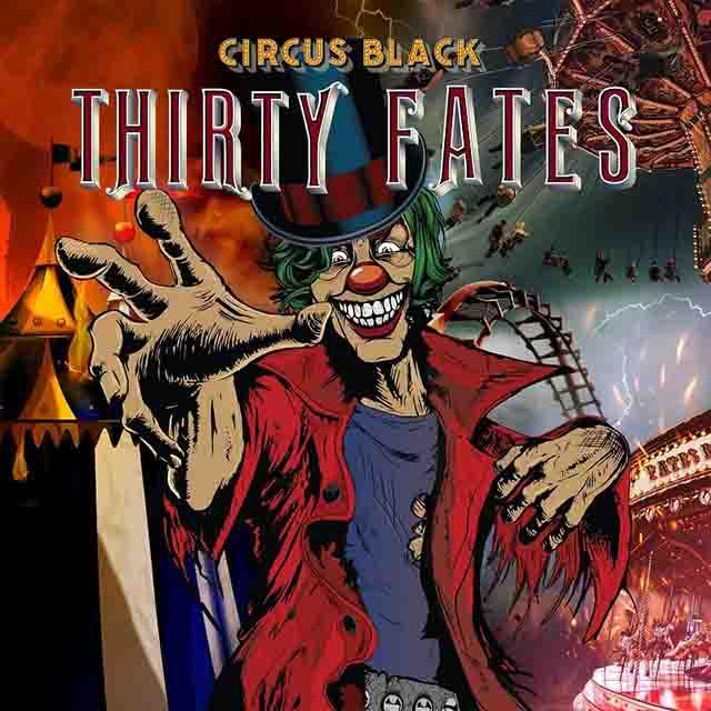 """Ο δίσκος των Thirty Fates """"Circus Black"""""""