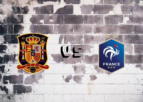España vs Francia  Resumen y Partido Completo