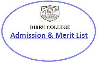 Dibru College Merit List
