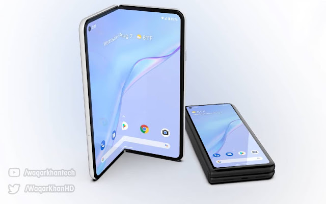 Android 12.1 update teases the arrival of Google's foldable smartphone - Pixel Fold