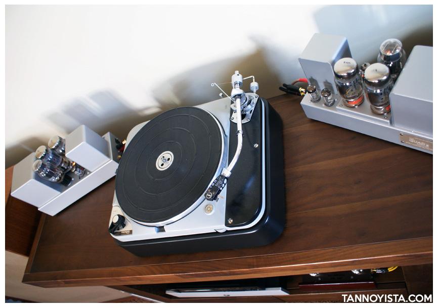 Croft QUAD II Monoblock Amplifiers and Thorens TD124 MKII