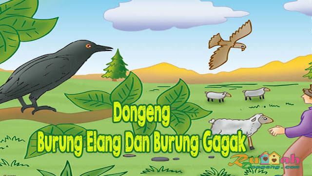 Dongeng Burung Elang Dan Burung Gagak