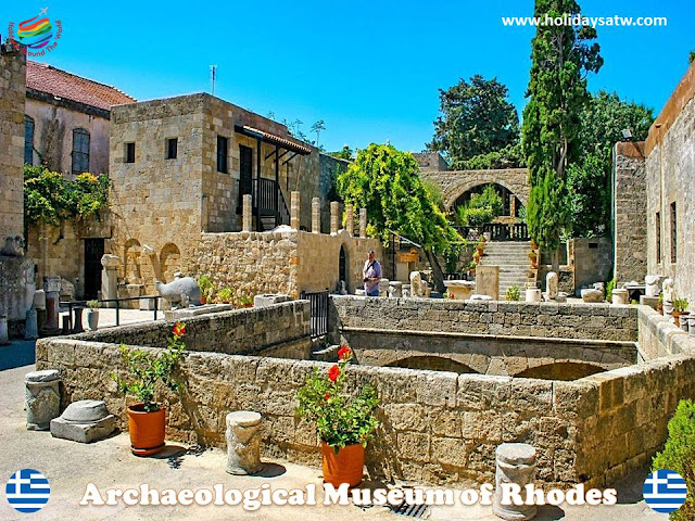 The most important archaeological places in Rhodes