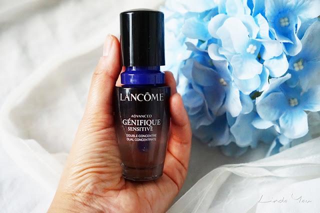 Lancome升級版嫩肌活膚雙精華-Advanced Genifique Sensitive-敏感肌膚-review-評價