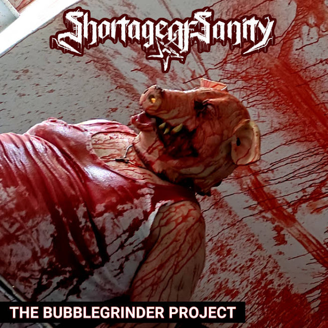 ShortageOfSanity - The Bubblegrinder Project (Single) (2021)