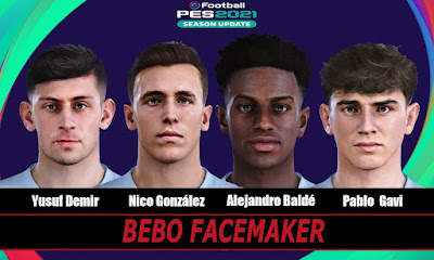 PES 2021 Facepack Barcelona 21/22 by Bebo
