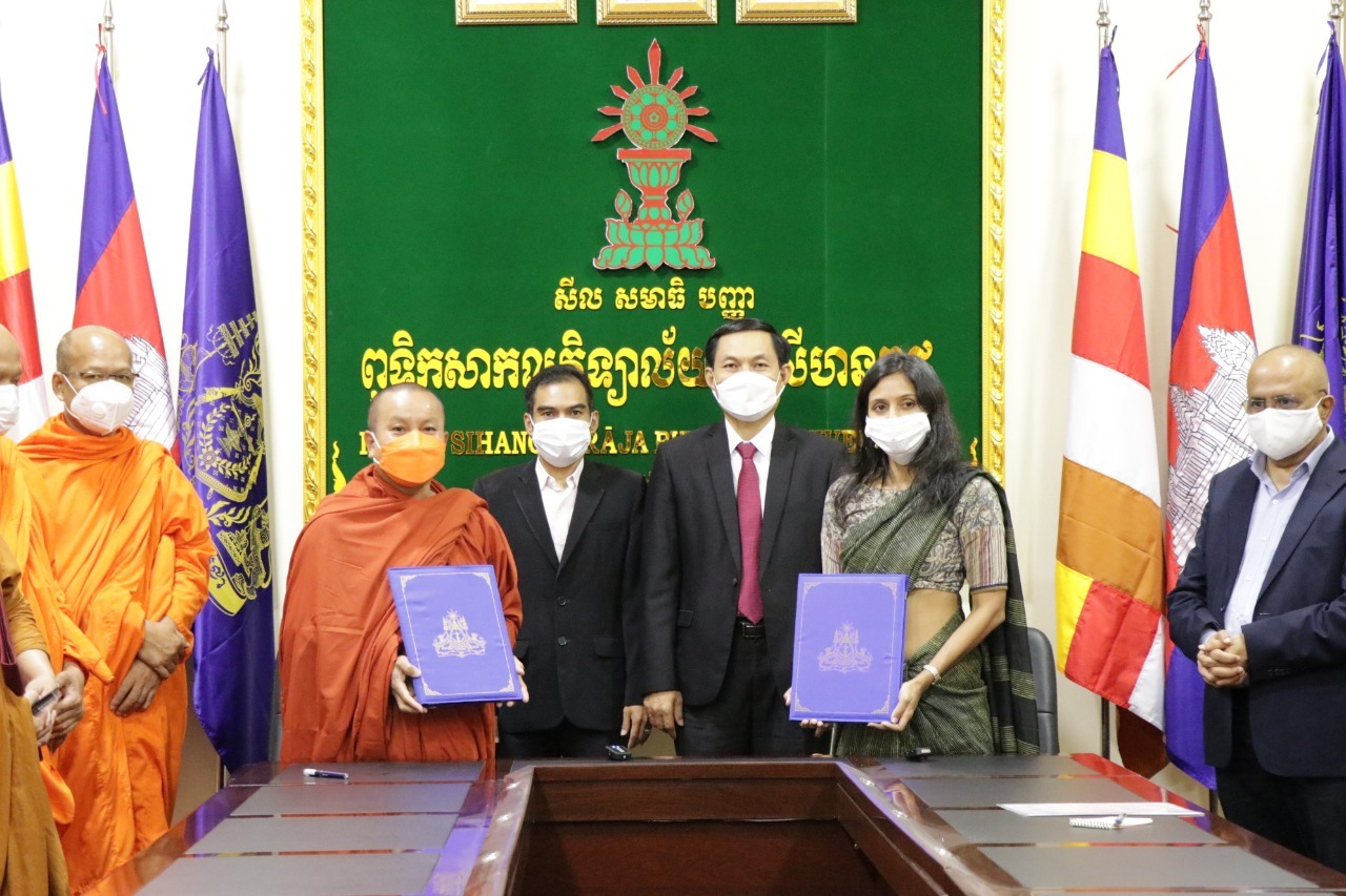 Government of India to Set up IT Center at Buddhist University in Cambodia