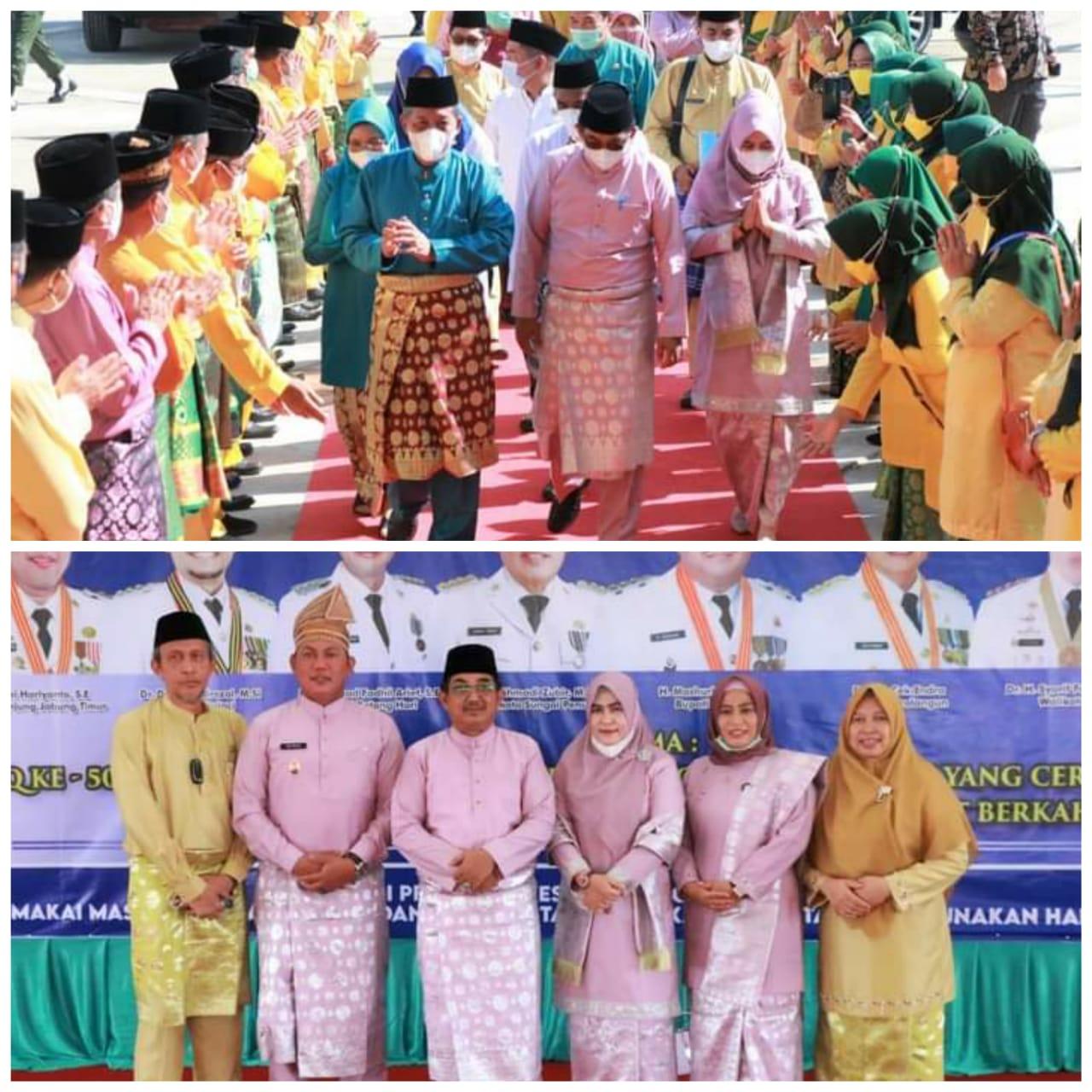 Suatu Kebanggaan Meraih Rangking Terbaik  Ke-1 MTQ Ke-50 Tingkat Provinsi Jambi