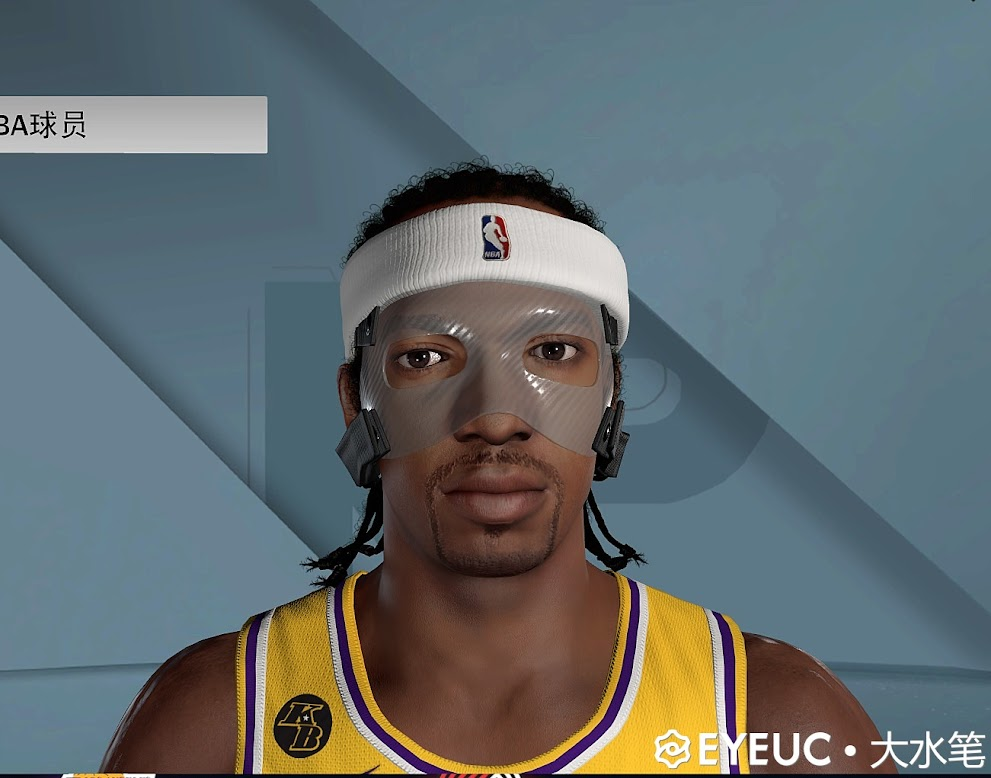NBA 2K22 Richard Hamilton Cyberface and Body Model by Big Pen