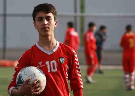 Afghan Footballer, Zaki Anwari, Death from US Plane,Kabul,News,