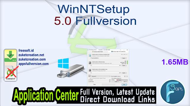 WinNTSetup 5.0 Fullversion