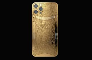 اطلاق إصدارات ذهبية من PS5 و iPad mini و AirPods Max و iPhone 13 Pro من Caviar