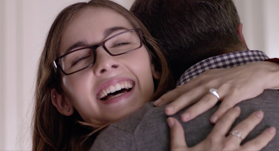 Haley Pullos in the TV movie FROM STRAIGHT A'S TO XXX