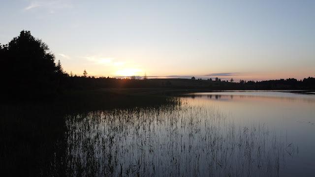 Romantik pur! Abendstimmung am Bannwaldsee