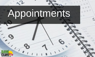Appointments on 9th October 2021