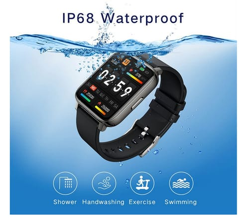 choosice IP68 Waterproof Smartwatch with Heart Rate Monitor