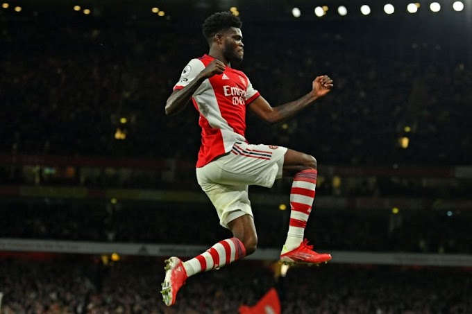 Arsenal vs Aston Villa: Partey ends goal drought as Arsenal beat Villa