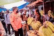 Bupati Jember Blusukan Temui Warga di Pasar