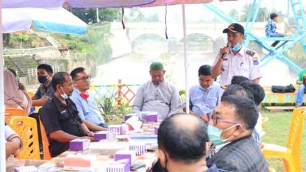 Diskusi Secangkir Kopi di Taman Makmur NDB