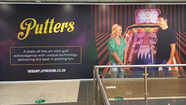 Putters Mini Golf at the Urban Playground in the Manchester Arndale Centre