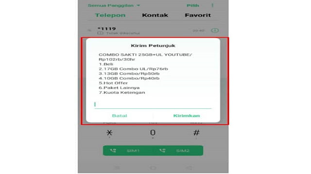Kode Dial Telkomsel Murah Bulanan Unlimited