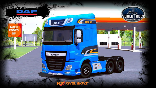 DAF XF - NEW XF AZUL