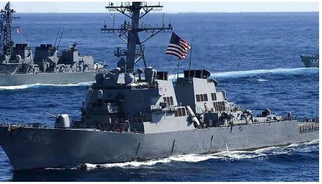 Διέλευση αμερικανικού και καναδικού  πολεμικού πλοίου από τό στενό της Ταϊβάν,,,,,Η Κίνα παρακολουθεί και καταδικάζει!
