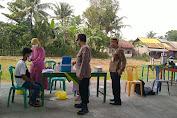 Cegah Kerumunan, Polsek Bukateja Amankan Vaksinasi di Desa Kembangan