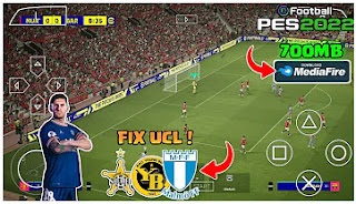 Download eFootball PES 2022 PPSSPP Fix Team UCL Best Graphics Menu HD & Last Transfer