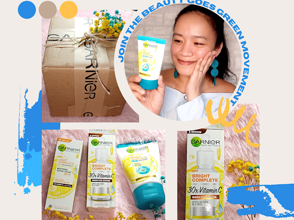 Join the Beauty Goes Green Movement and take that #OneGreenStep with Garnier and Shopee!