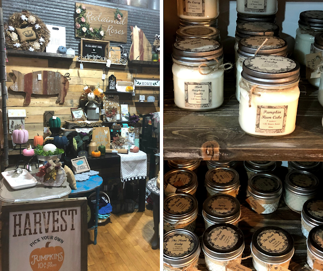 A wonderland of vintage and locally crafted finds at 608 Vintage in Janesville, Wisconsin.