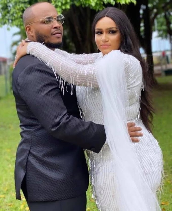 Davido's cousin and rapper, Sina Rambo holds court wedding (See Photo)