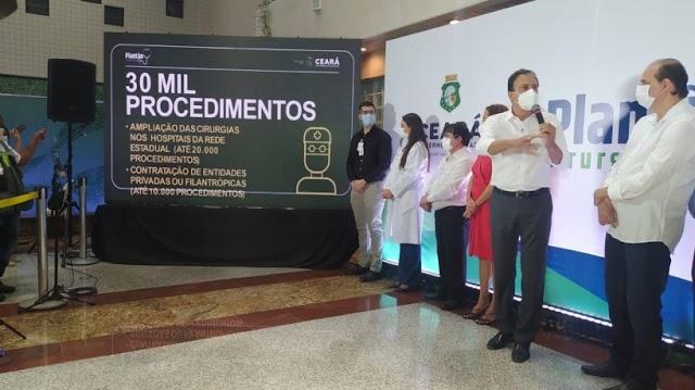 Ceará lança programa para realizar 30 mil cirurgias eletivas em todas as regiões de saúde