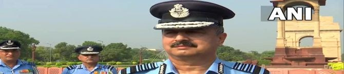 First Priority To Ensure Safety of Nation Through Appropriate Use of Air Power, Says New Air Chief Marshal Vivek Ram Chaudhari