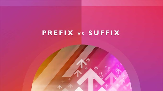 Prefix และ Suffix คืออะไร