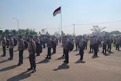 150 Personil BKO Polres Serang Dilibatkan dalam Pengamanan Pilkades Serentak Kabupaten Tangerang